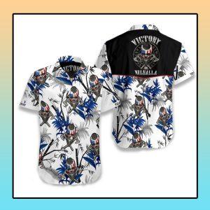 Viking victory valhalla Hawaiian shirt1