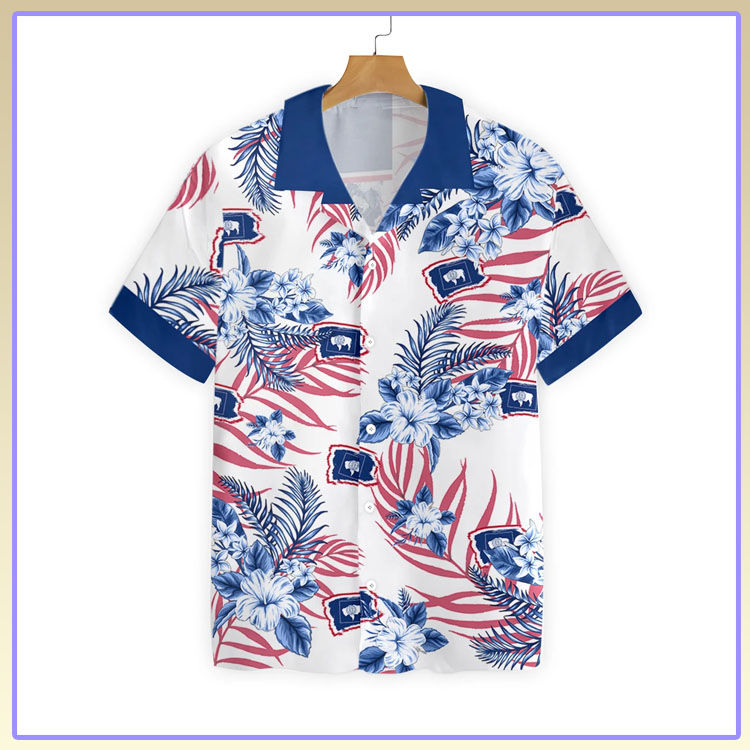 Wyoming proud hawaiian shirt7