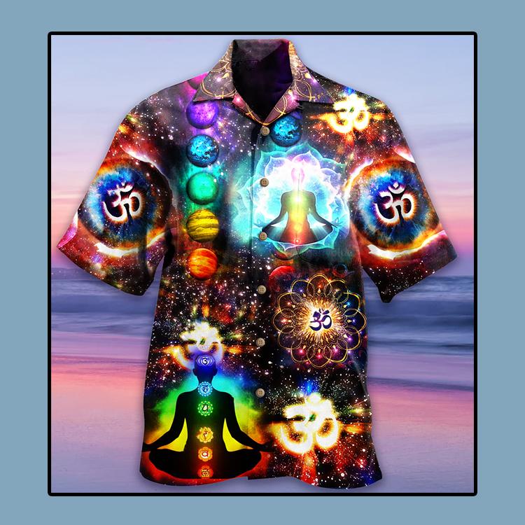 Yoga meditation Hawaiian shirt4