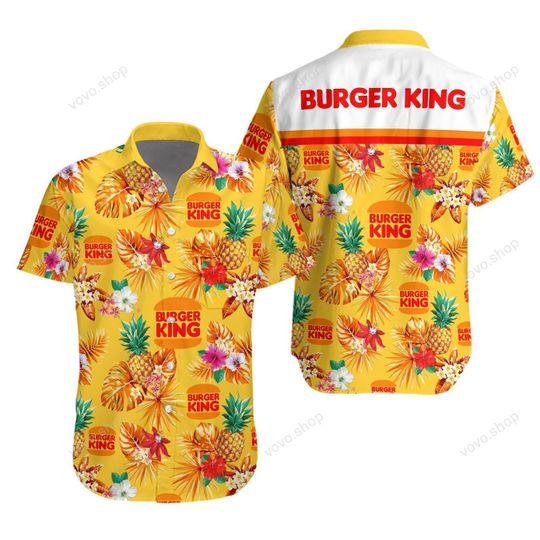 10 Burger King Hawaiian Shirt And Short 1 1