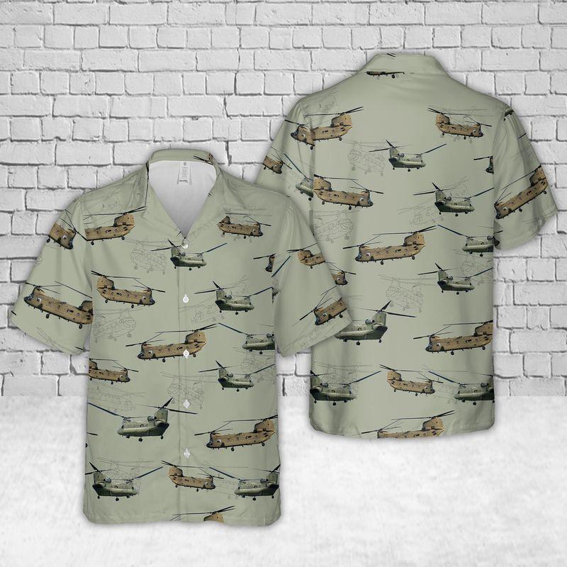 11 Army Boeing CH 47 Chinook Hawaiian Shirt And Short 1 1