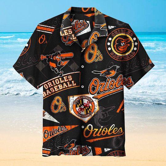 13 Baltimore Orioles Hawaiian Shirt 1 1