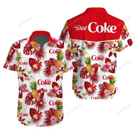 13 Diet Coke Hawaiian Shirt And Short 1 1