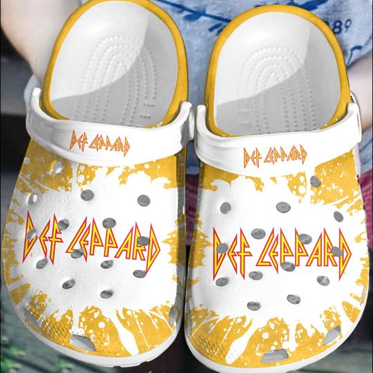 14 Def Leppard crocs clog crocband 1 1