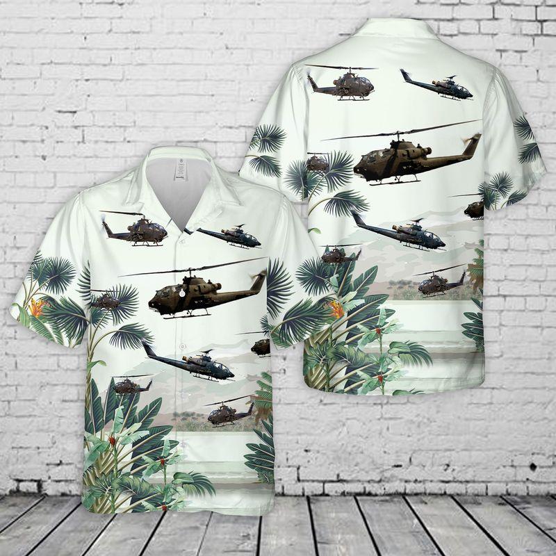 14 US Army AH 1F Cobra Hawaiian Shirt And Shorts 1 1