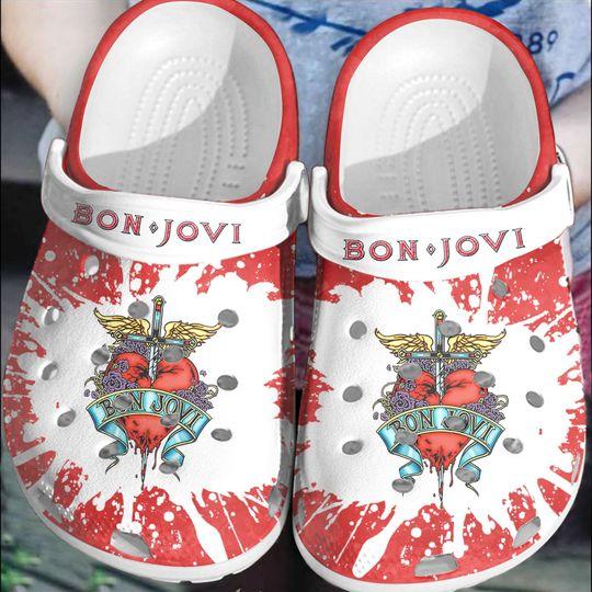 15 Bon Jovi crocs clog crocband 1 1