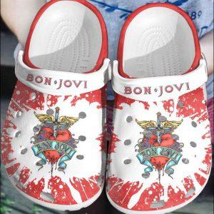 15 Bon Jovi crocs clog crocband 1