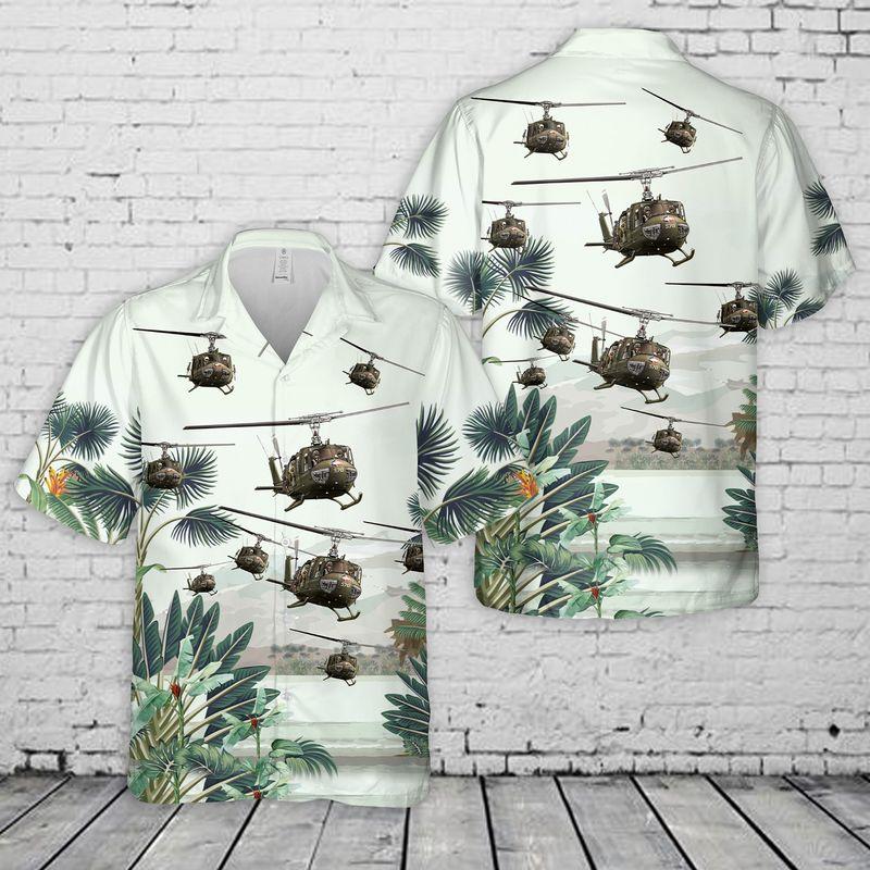 15 US Army Bell UH 1 Huey Hawaiian Shirt 1 1