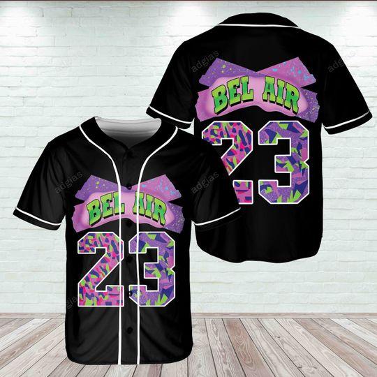 16 Bel Air 23 Jersey Baseball 1 1