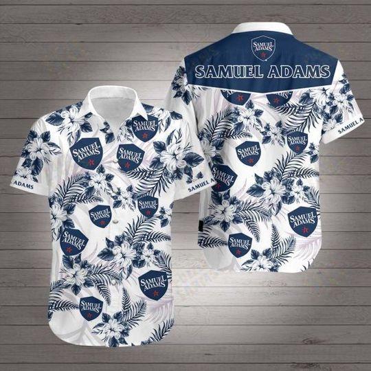 16 Samuel Adams Hawaiian Shirt 1 1