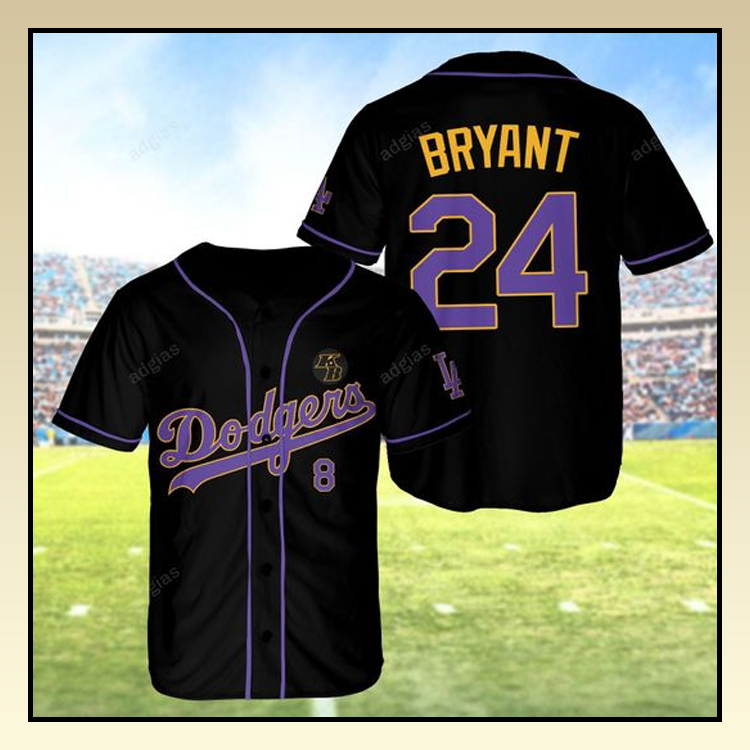 Dodgers Kobe Bryant 24 Baseball Jersey shirt – LIMITED EDITION ...