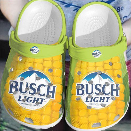 2 Busch Light Crocband Clog Shoes 1 1