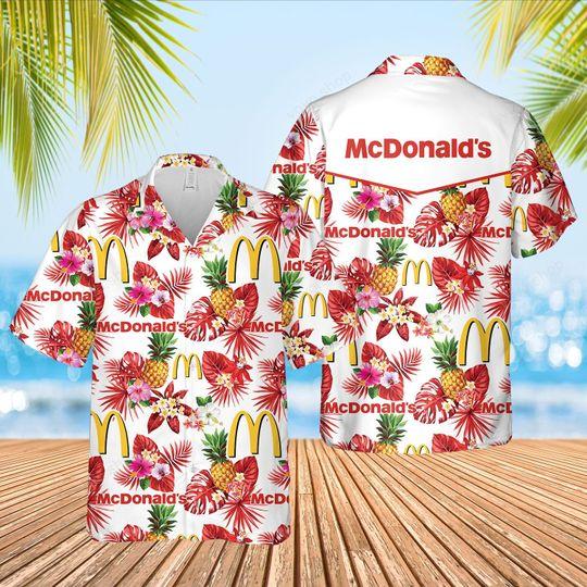 2 McDonalds Hawaiian Shirt And Short 1 1