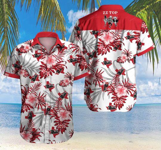 20 ZZ Top American Rock Band Hawaiian Shirt 1 1