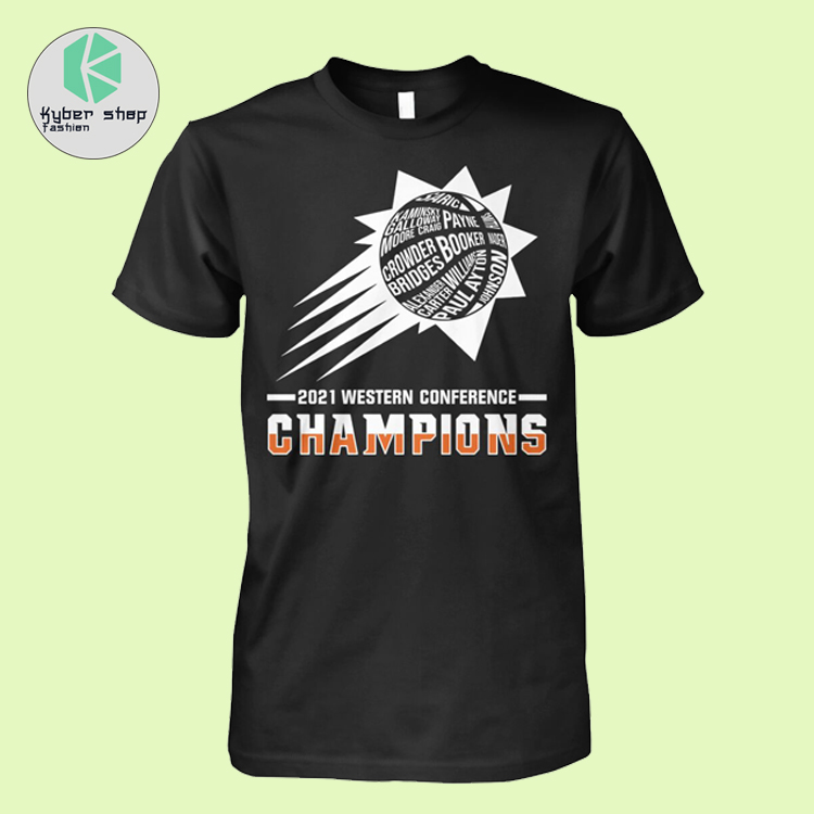 2021 western conference champions shirt 2