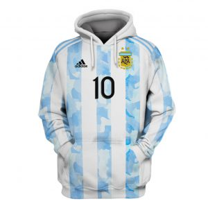 22 Argentina Messi 10 all over print 3d Hoodie And Shirt 1