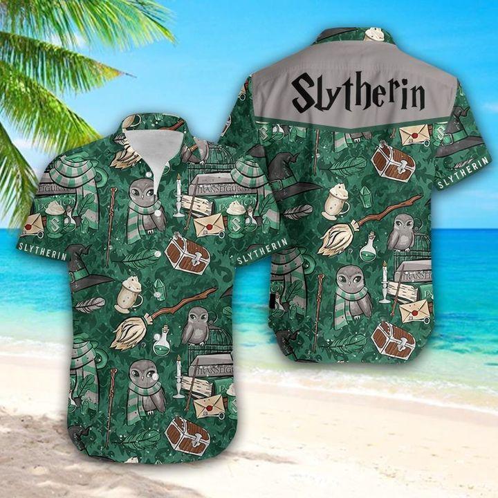 22 Slytherin Hawaiian Shirt 1 1