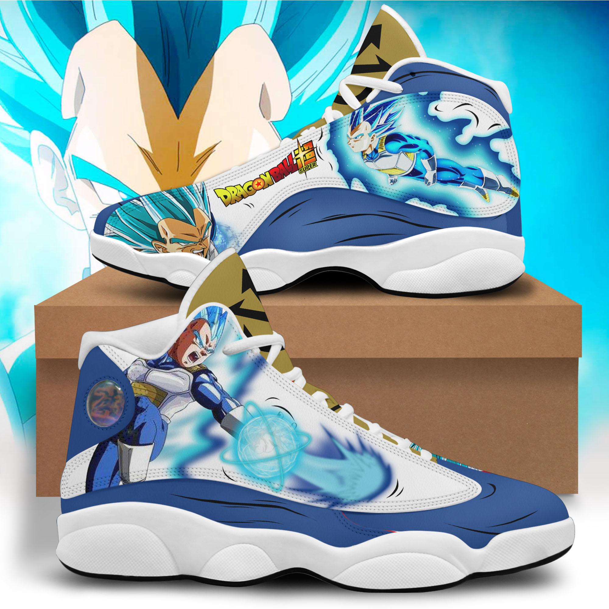 24 Dragon Ball Vegeta custom air Jordan 13 shoes 1