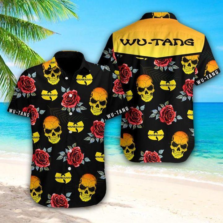 24 Wu tang clan Skull Hawaiian Shirt 1 1