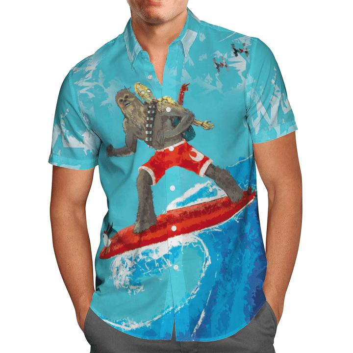 25 Chewie Star War Hawaiian Shirt 1 1