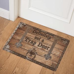 25 Definitely Not A Trap Door Doormat 1