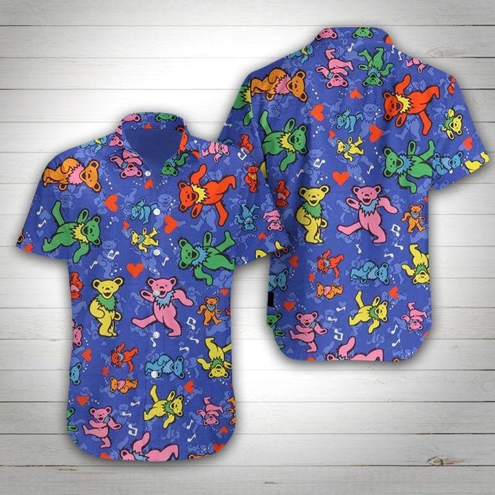 25 Grateful dead Summer Hawaiian Shirt 1 1