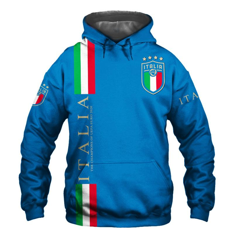 25 Italia its coming to Rome We are Champions 3d Hoodie shirt 1 1