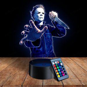 27 Michael Myers 3d illusion lamps led night light 1