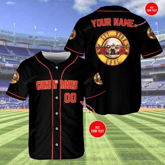 27 Roses Overprint custom name and number baseball jersey shirt 1 1