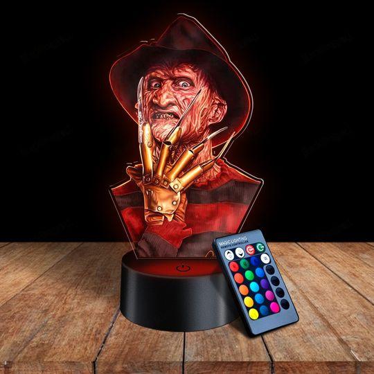 29 Freddy Krueger 3d illusion lamps led night light 1