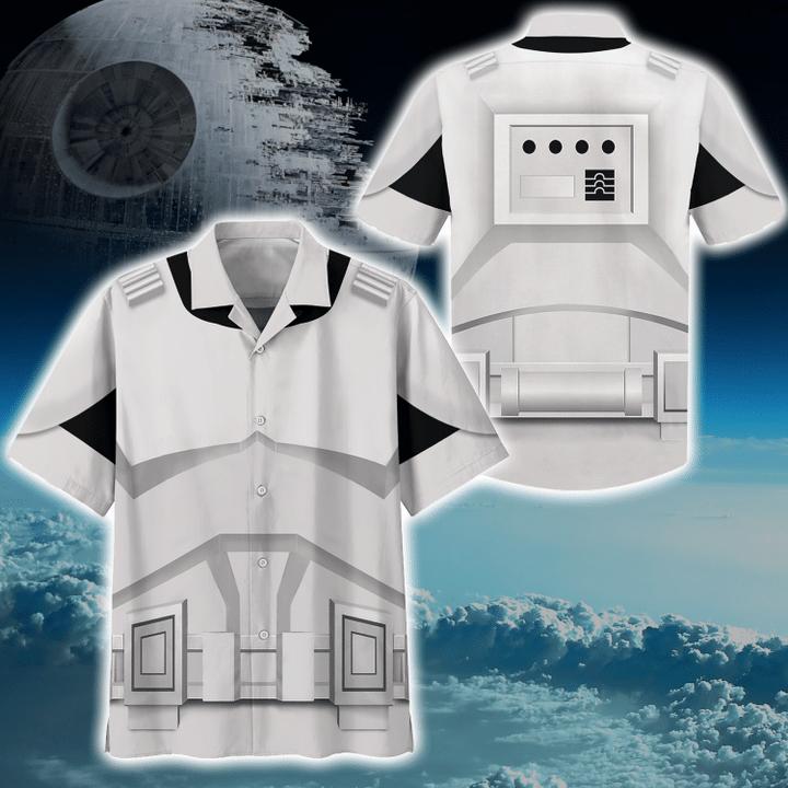 3 Cosplay Star Wars Stomstroper Hawaiian Shirt 1 1