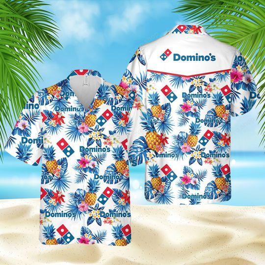 4 Dominos Hawaiian Shirt And Short 1 1