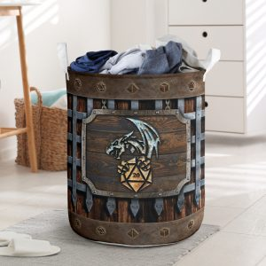 D-D dungeons and dragons laundry basket