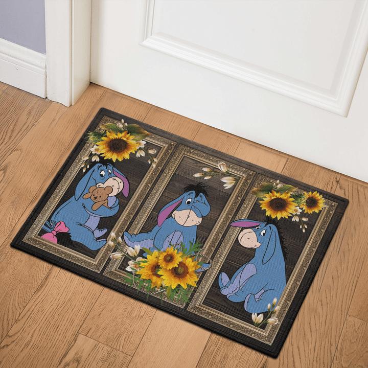 7 Eeyore Sunflower Doormat 1 1