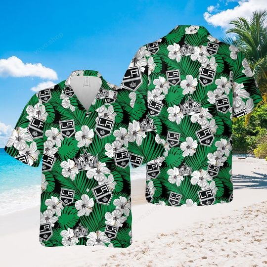 7 Los Angeles Hawaiian Shirt And Short 1 1