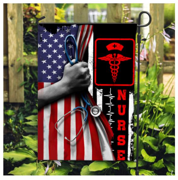 8 American Flag Nurse Flag 1 1