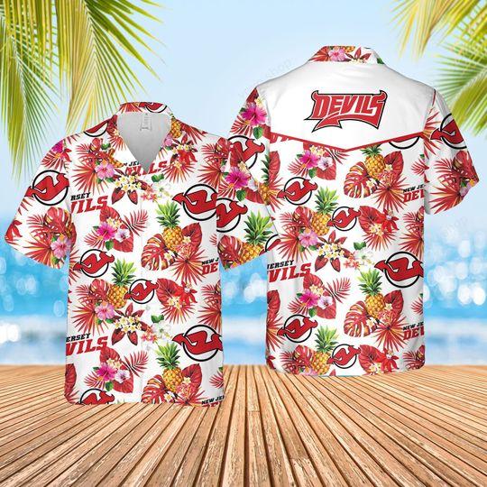 8 New Jersey Devils Hawaiian Shirt And Short 1 1