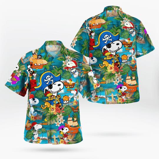 8 Snoopy Pirate Hawaiian Shirt 1 1