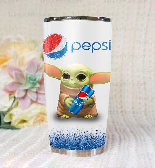 9 Baby Yoda Pepsi Tumbler 1 1