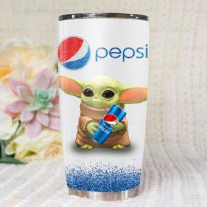 9 Baby Yoda Pepsi Tumbler 1