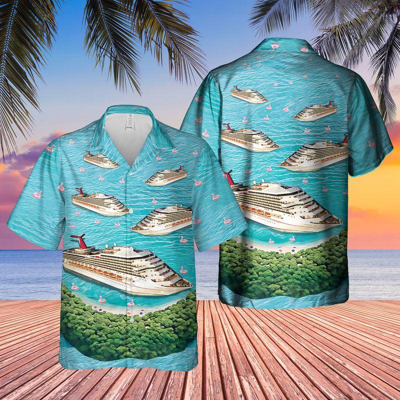 9 US Cruise Ship Half Moon Cay Hawaiian Shirt 1 1