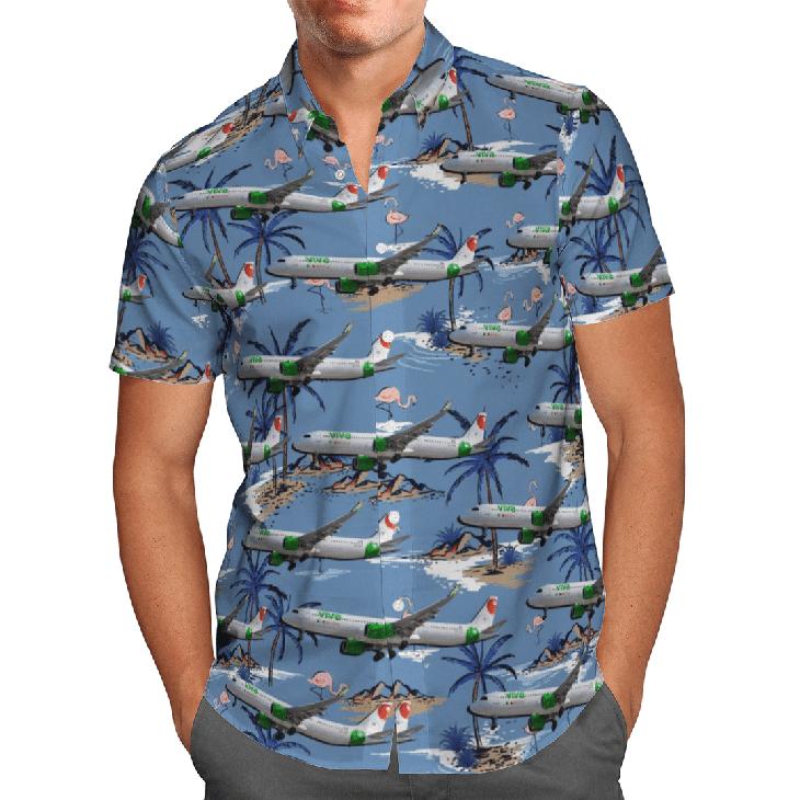 AIRBUS A321 271NX Hawaiian Shirt1