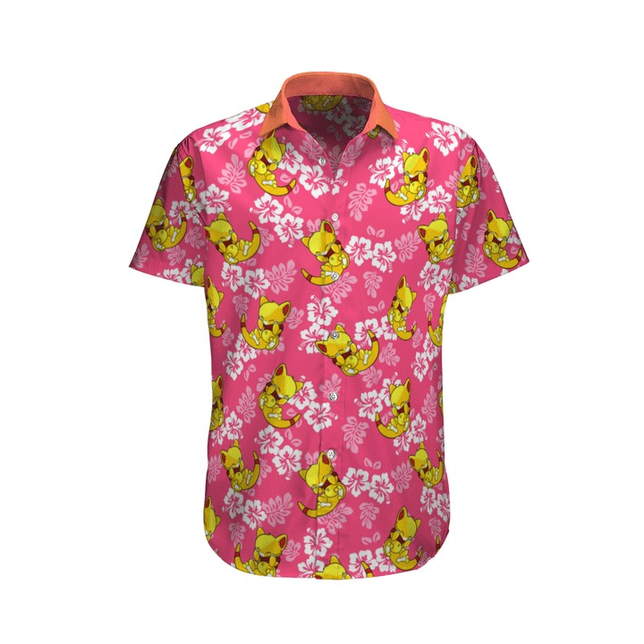 Abra Pokemon Hawaiian Shirt