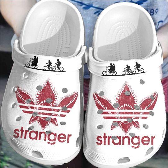 Adidas Stranger crocs clog crocband