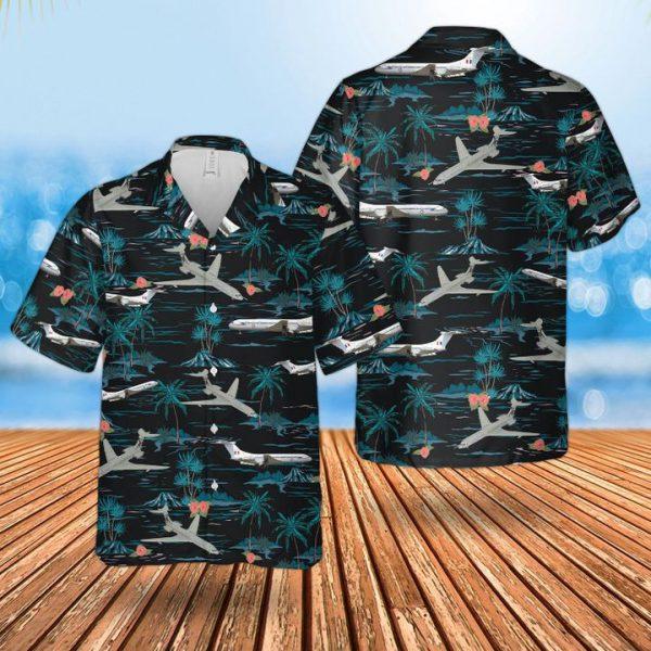 Af Historical Vickers Vc10 Hawaiian Shirt and short