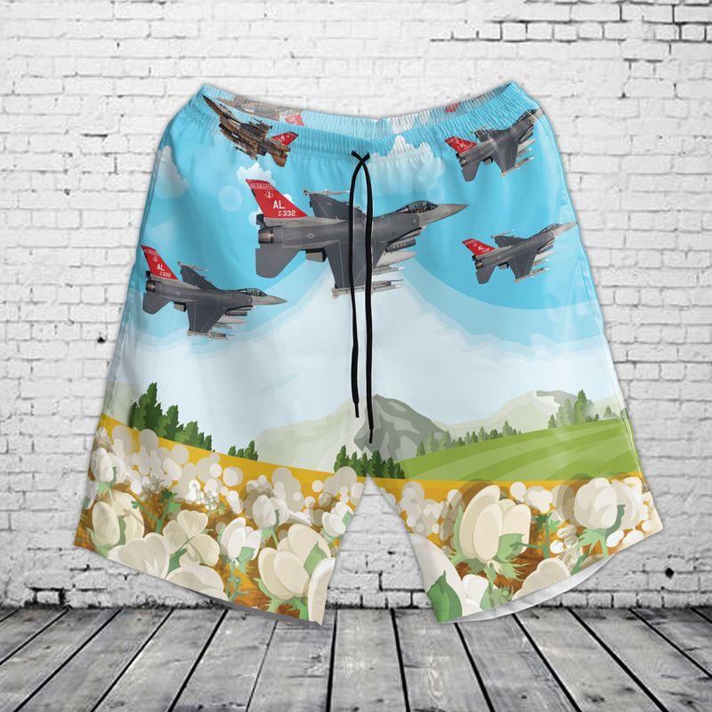 Alabama Air National Guard 187th Fighter Wing Hawaiian Shirt