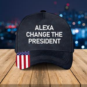 Alexa Change The President Classic Black Hat 1