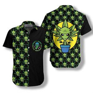 Alien Dont Panic Its Organic Hawaiian Shirt