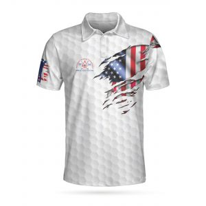 American Chemical Golf Polo Shirt