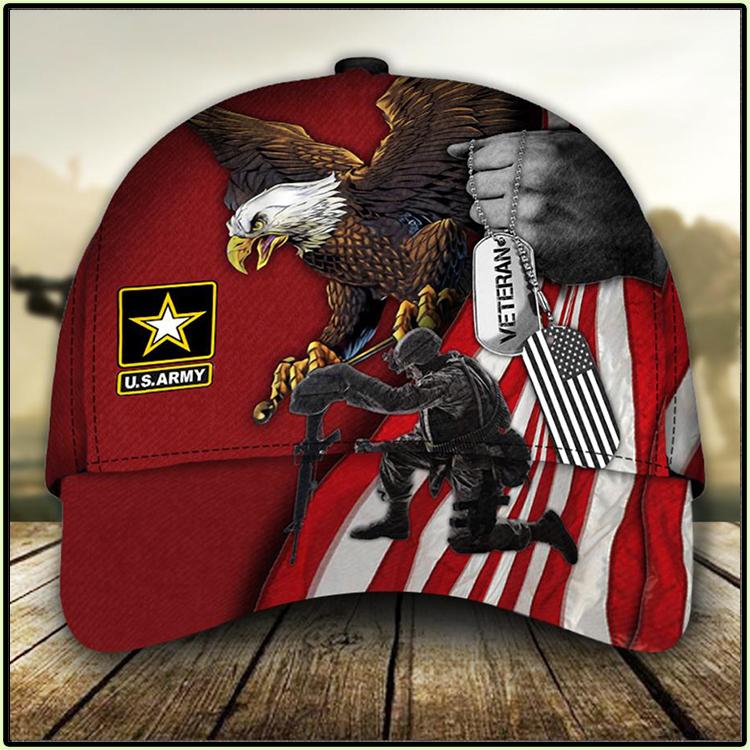 American Flag Eagle U S ARMY Veteran Cap1 1